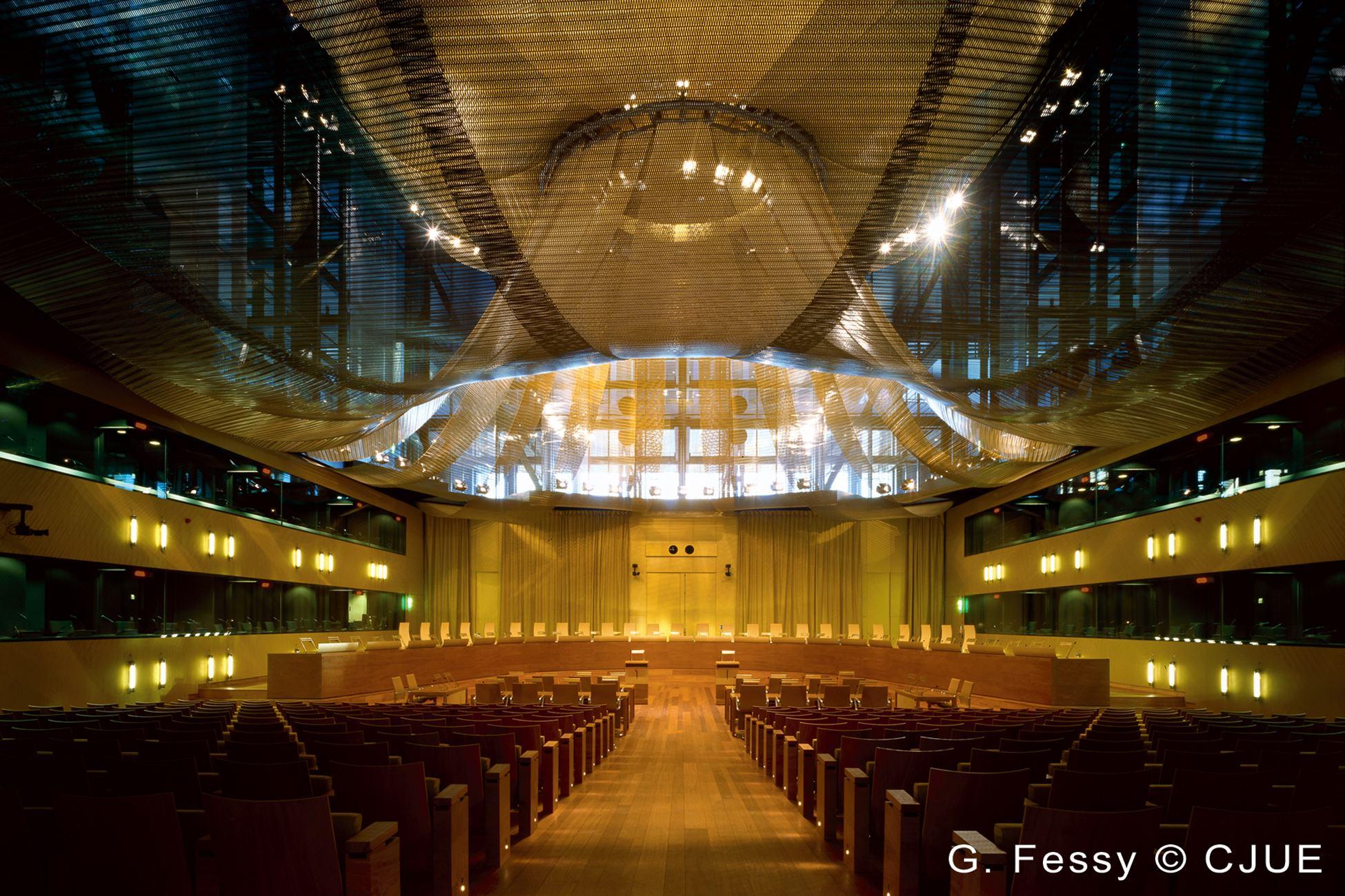 CJEU - Grand Hall of Justice